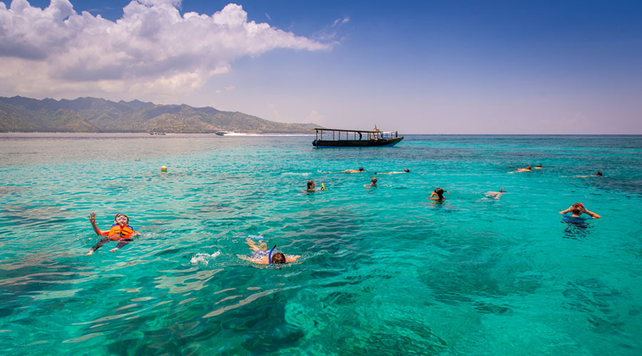 Gili Islands - snorkelling and swimming