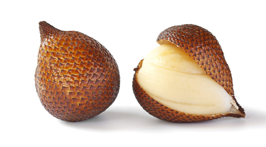 "Salak Fruit, also called ""Snake Fruit,"" from Indonesia"